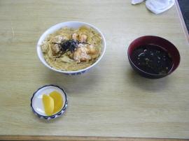 大アサリ丼