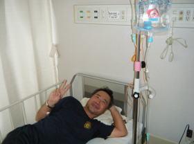 豊橋市民病院に入院