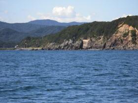 安乗崎灯台の対岸